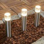 3´er sæt LED jordspydslampe Albireo