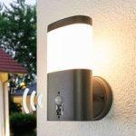 Marius – LED udendørs væglampe med sensor