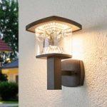 LED udendørs væglampe Askan i rustfrit stål