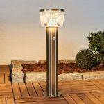 LED solcelle sokkellampe Antje, bevægelsessensor